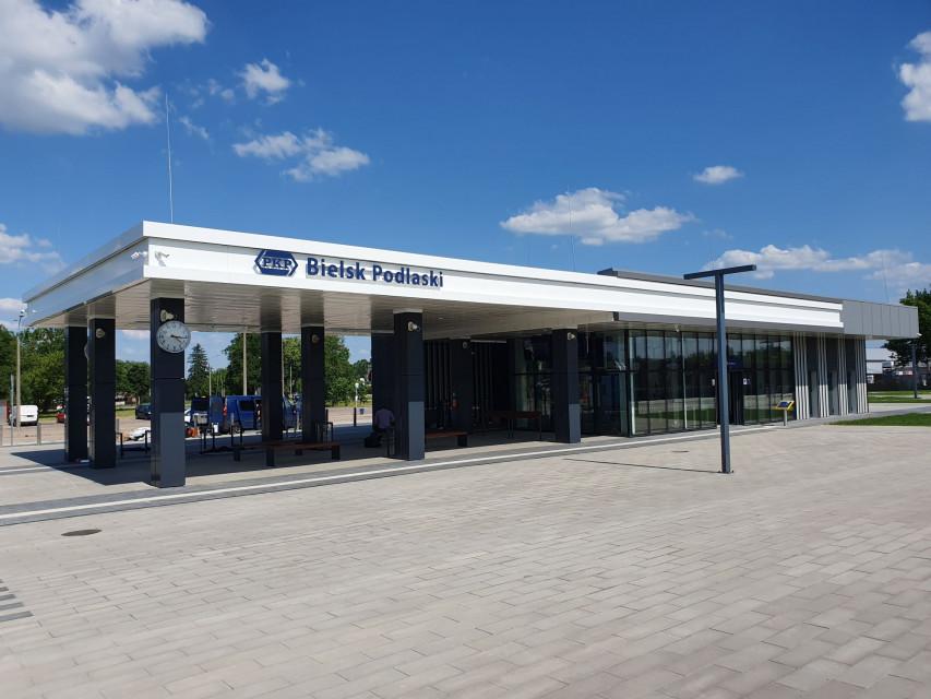 Realizacja - Dworzec PKP w Bielsku Podlaskim